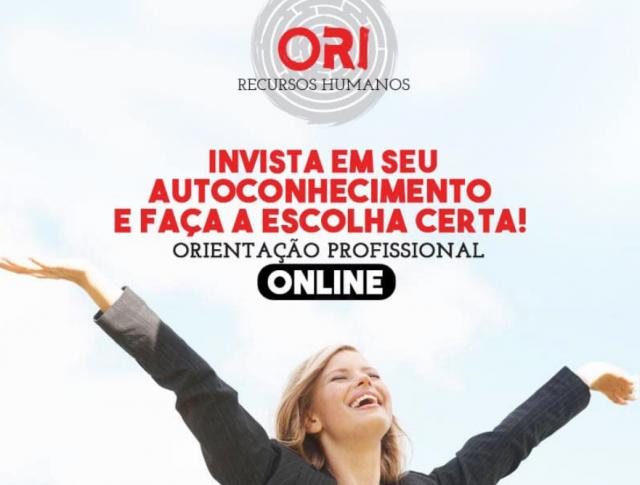 Orientação Profissional – online
