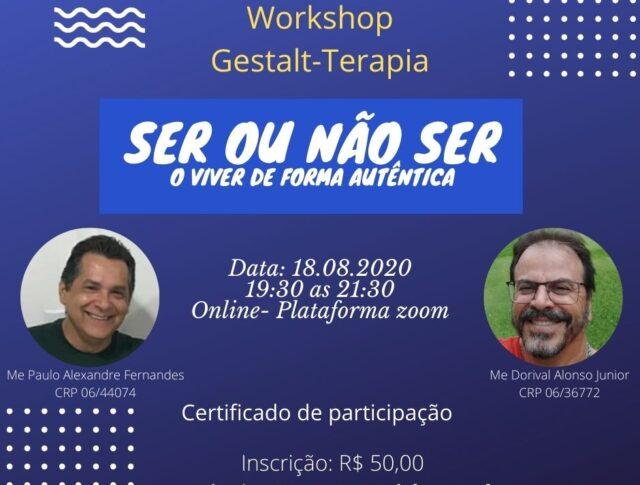 Workshop: Ser ou não ser – O viver de forma autêntica